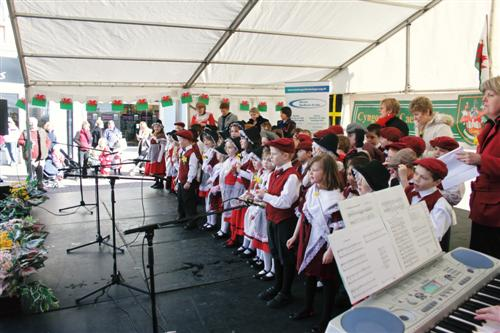 St David's day performance